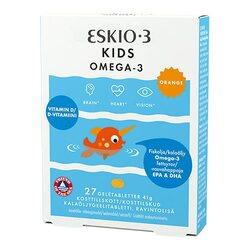 Eskio-3 Kids Chewable Omega-3 orange