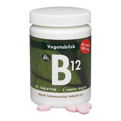 Vegetabilsk B12 vitamin 500 mcg