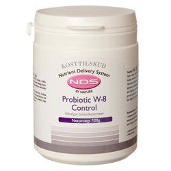 NDS Probiotic W-8 Control